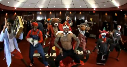 Necole Bitchie-The Harlem Shake by the Miami Heat