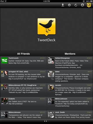 Tweetdeck no longer on the iPhone, android, and desktop
